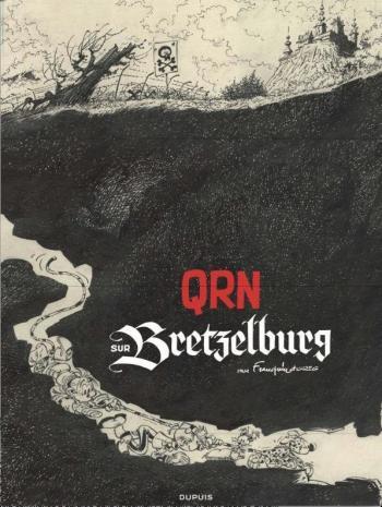 Couverture de l'album Spirou et Fantasio - 18. QRN sur Bretzelburg (Coffret Collector Canal BD)