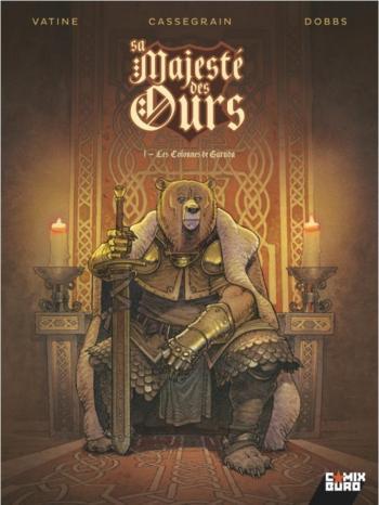 Couverture de l'album Sa Majesté des Ours - 1. Les Colonnes de Garuda