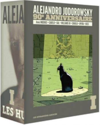Couverture de l'album Alejandro Jodorowsky 90e anniversaire - COF. Coffret Volume 1