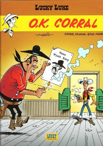 Couverture de l'album Lucky Luke - 67. O.K. Corral