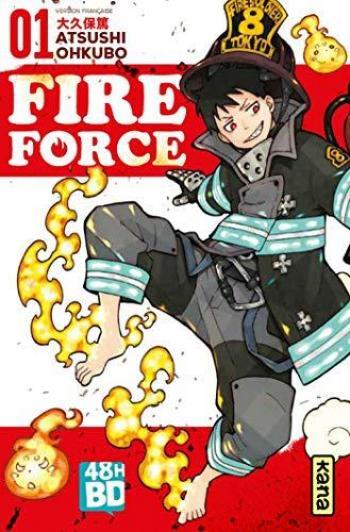 Couverture de l'album Fire Force - 1. Fire Force - Tome 1