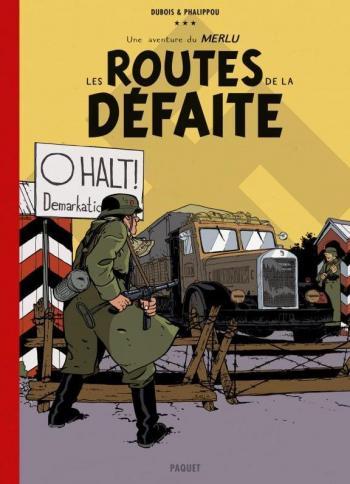 Couverture de l'album Le Merlu - 1. Les Routes de la Défaite (Édition Collector Canal BD)