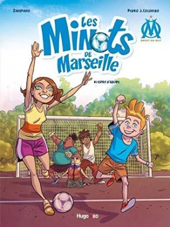 Couverture de l'album Les Minots de Marseille - 1. Esprit d'équipe
