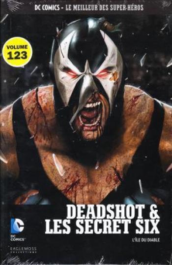 Couverture de l'album DC Comics - Le Meilleur des super-héros - 123. Deadshot & les Secret Six - L'île du Diable