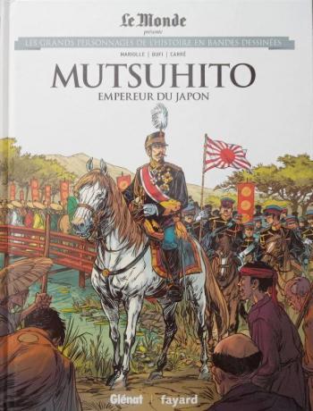Couverture de l'album Les Grands Personnages de l'Histoire en BD - 39. Mutsuhito - Empereur du Japon