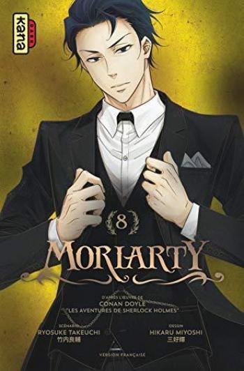 Couverture de l'album Moriarty - 8. tome 8