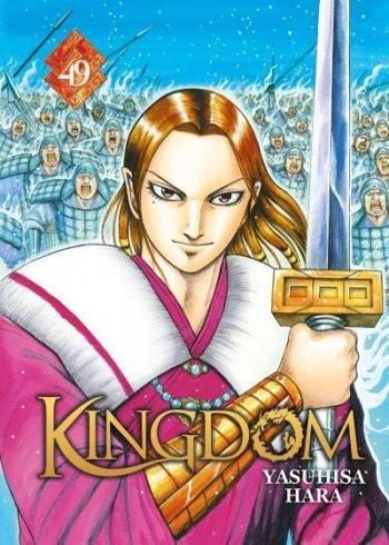Couverture de l'album Kingdom - 49. Hostilités lancées entre Qin et Zhao : Qui aura le dessus ?!