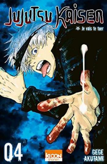 Couverture de l'album Jujutsu Kaisen - 4. Je vais te tuer