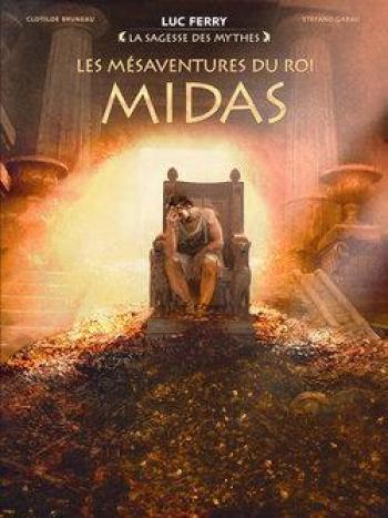 Couverture de l'album Les Mésaventures du roi Midas (One-shot)