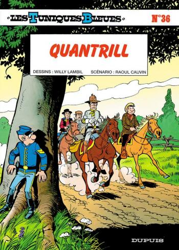 Couverture de l'album Les Tuniques bleues - 36. Quantrill