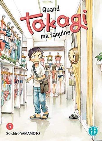 Couverture de l'album Quand Takagi me taquine - 5. Tome 5