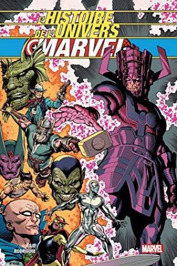 Couverture de l'album L'histoire de l'univers Marvel (One-shot)