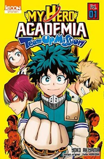 Couverture de l'album My Hero Academia : Team-up Mission - 1. Un nouveau programme