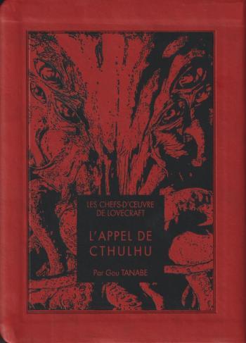 Couverture de l'album Les Chefs-d'oeuvre de Lovecraft - 5. L'appel de Cthulhu