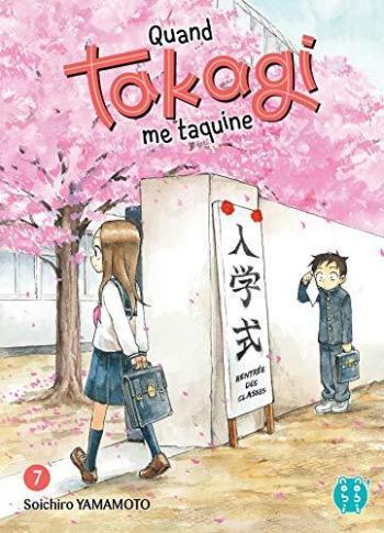 Couverture de l'album Quand Takagi me taquine - 7. Tome 7