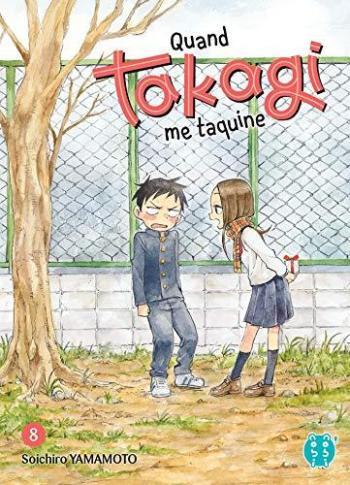 Couverture de l'album Quand Takagi me taquine - 8. Tome 8