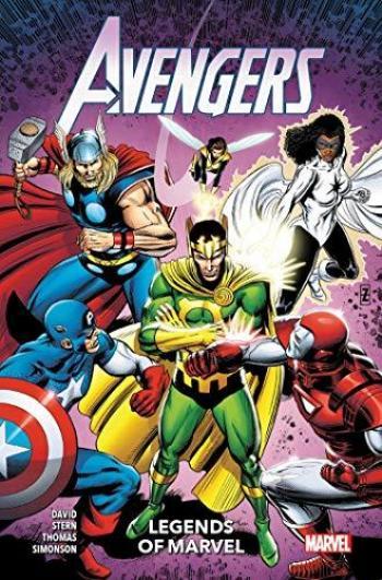 Couverture de l'album Avengers - Legends of Marvel (One-shot)