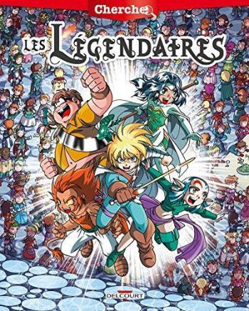 Couverture de l'album Les Légendaires - HS. Cherche les Légendaires