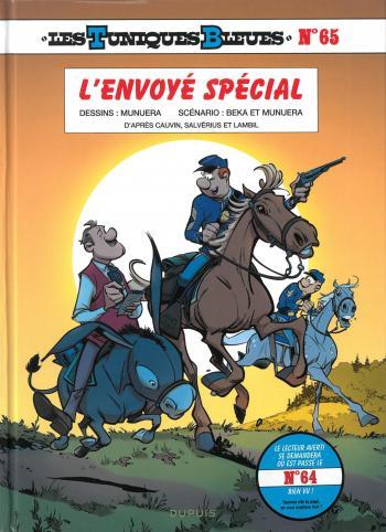 Couverture de l'album Les Tuniques bleues - 65. L'envoyé spécial