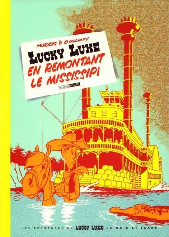 Couverture de l'album Lucky Luke - 16. En remontant le Mississipi