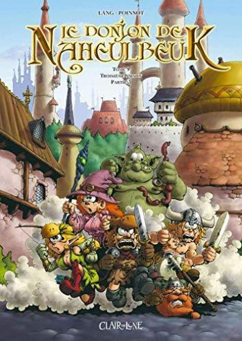 Couverture de l'album Le Donjon de Naheulbeuk - 9. Saison 3, Partie 3