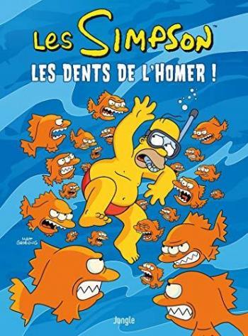 Couverture de l'album Les Simpson (Jungle) - 42. Les dents de l'Homer !