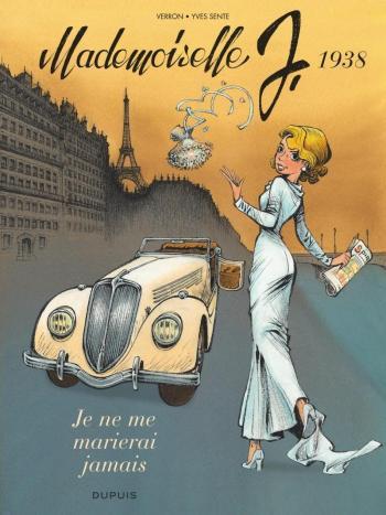 Couverture de l'album Mademoiselle J - 2. Je ne me marierai jamais