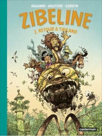 Couverture de l'album Zibeline - - 2. Retour à Tikiland
