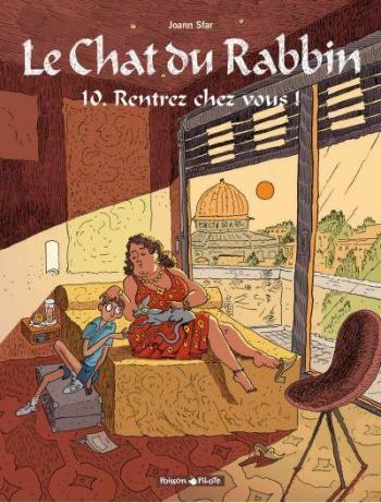 Couverture de l'album Le Chat du Rabbin - 10. Rentrez chez vous !