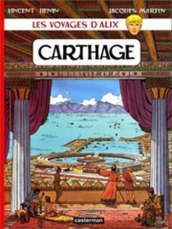 Couverture de l'album Les Voyages d'Alix - 12. Carthage
