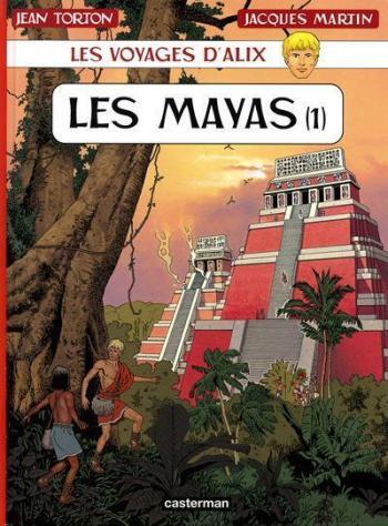 Couverture de l'album Les Voyages d'Alix - 19. Les Mayas (1)