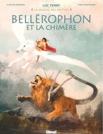 Couverture de l'album Bellérophon et la chimère (One-shot)