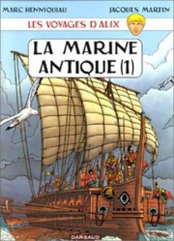 Couverture de l'album Les Voyages d'Alix - 5. La Marine antique (1)