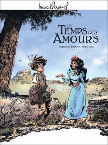 Couverture de l'album Marcel Pagnol en BD - 4. Le Temps des Amours