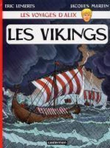 Couverture de l'album Les Voyages d'Alix - 23. Les Vikings