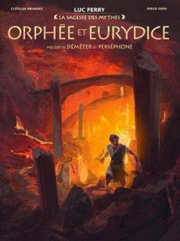 Couverture de l'album Orphée et Eurydice (One-shot)