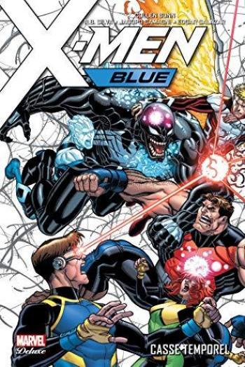 Couverture de l'album X-Men Blue - 2. Casse temporel