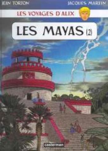 Couverture de l'album Les Voyages d'Alix - 21. Les Mayas (2)