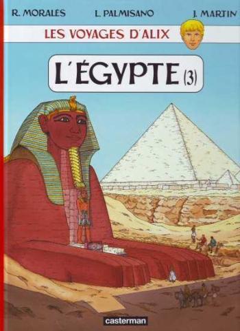 Couverture de l'album Les Voyages d'Alix - 29. L'Égypte (3)