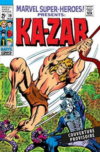 Couverture de l'album Ka-Zar - INT. 1969-1973