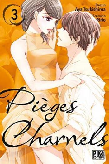 Couverture de l'album Pièges charnels - 3. tome 3