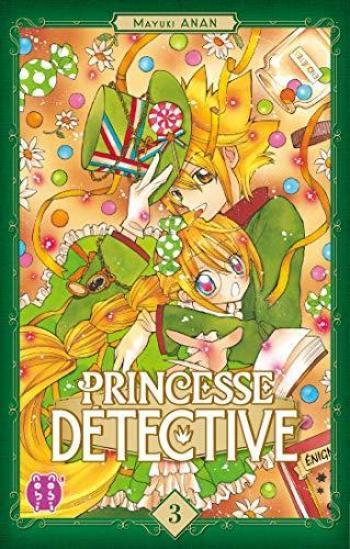Couverture de l'album Princesse Détective - 3. Tome 3