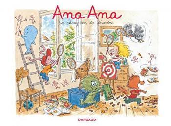 Couverture de l'album Ana Ana - 4. Les Champions du désordre