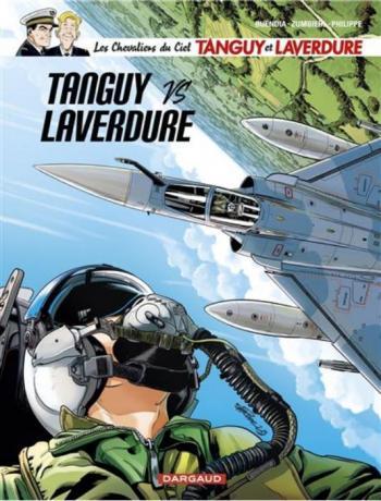 Couverture de l'album Tanguy et Laverdure - 34. Tanguy VS Laverdure