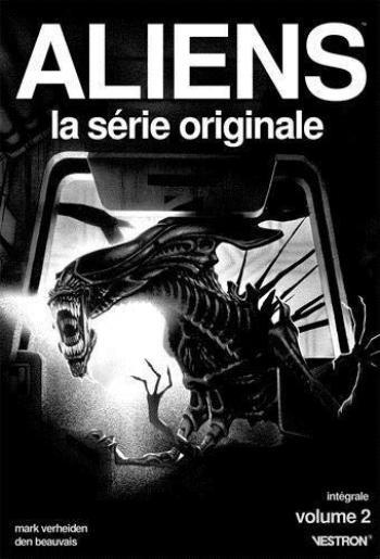 Couverture de l'album Vestron - 34. Aliens, La Série Originale - intégrale vol.2