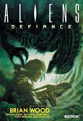 Couverture de l'album Vestron - 20. Aliens: Defiance, Volume 1