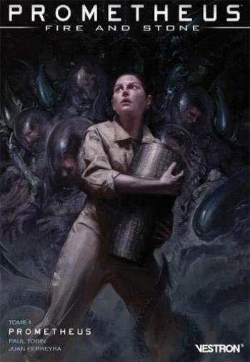 Couverture de l'album Vestron - 26. Prometheus : Fire and Stone tome 1