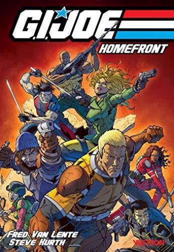 Couverture de l'album Vestron - 18. G.I. Joe : Homefront (volume 1)