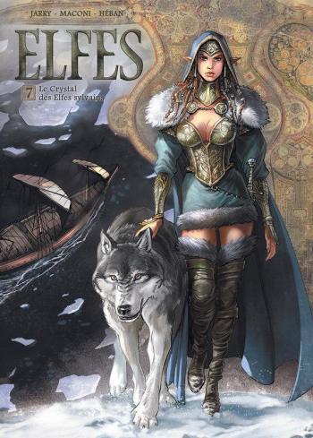 Couverture de l'album Elfes - 7. Le crystal des Elfes Sylvains