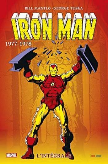 Couverture de l'album Iron Man (L'Intégrale) - INT. 1977/78